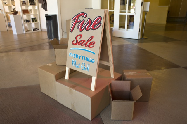 Fire Sale (Everything Must Go)